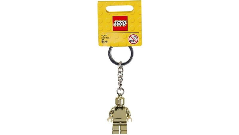 6039450 Keychain Minifigure Gold - LEGO® Bricks World
