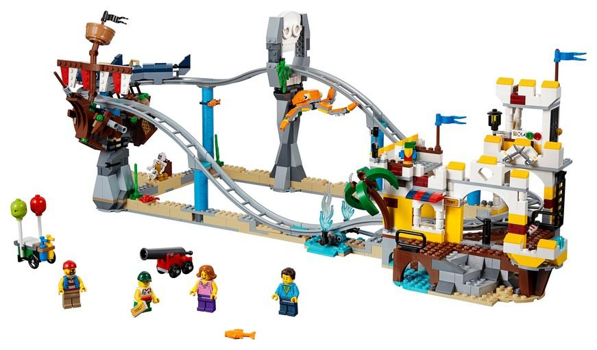 31084 Pirate Roller Coaster - LEGO® Bricks World