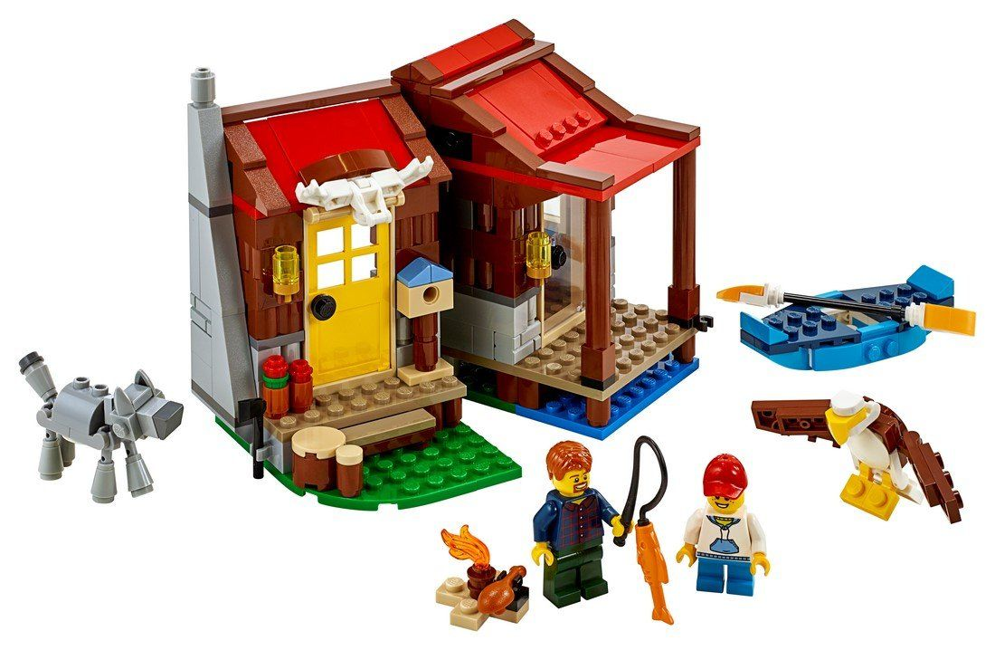 31098 Outback Cabin - LEGO® Bricks World