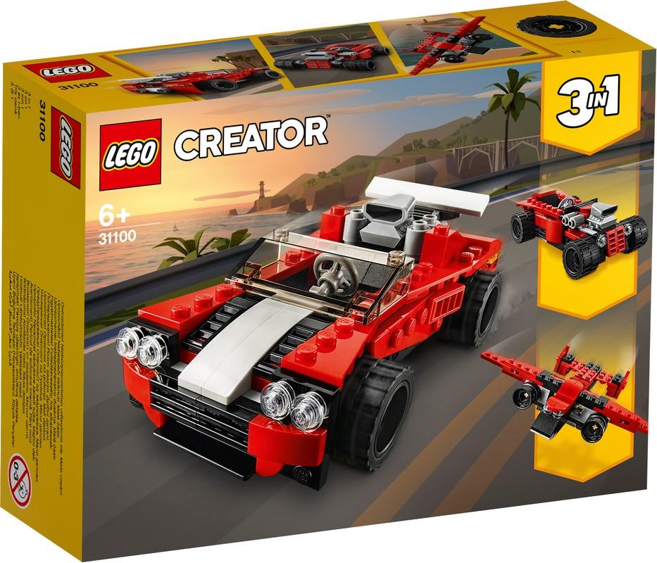 31100 Sports Car - LEGO® Bricks World