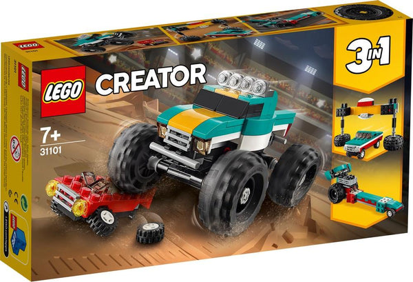 31101 Monster Truck - LEGO® Bricks World