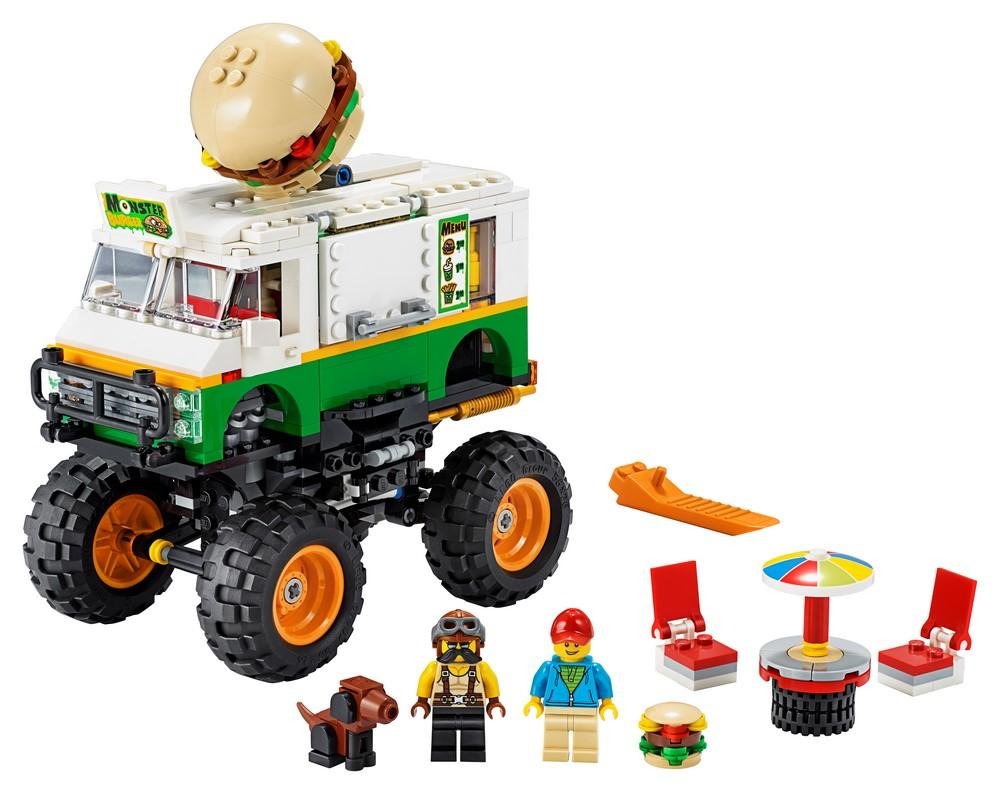 31104 Monster Burger Truck - LEGO® Bricks World