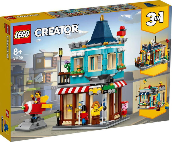 31105 Townhouse Toy Store - LEGO® Bricks World