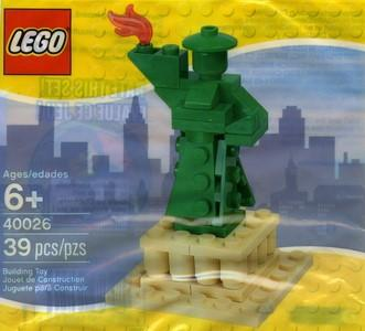 40026 Statue Of Liberty Polybag - LEGO® Bricks World