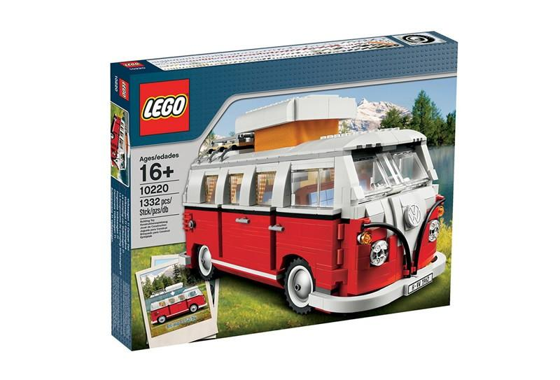 10220 Volkswagen T1 Camper Van - LEGO® Bricks World