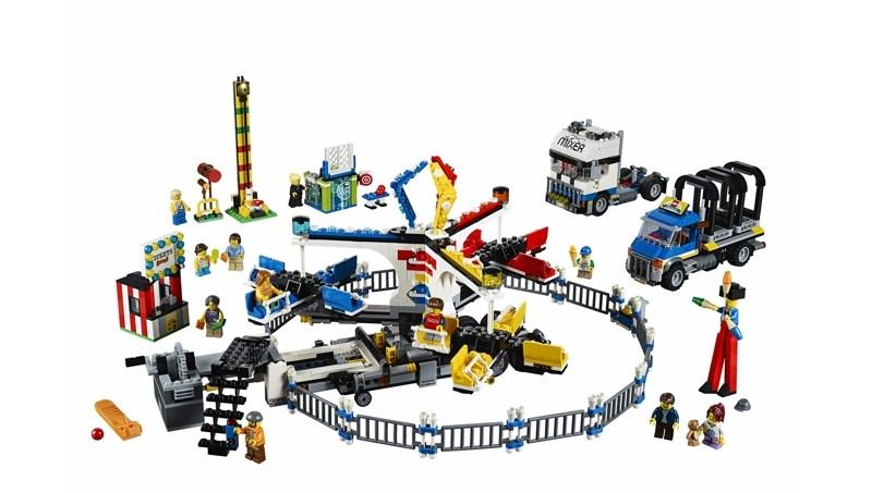 10244 Fairground Mixer - LEGO® Bricks World