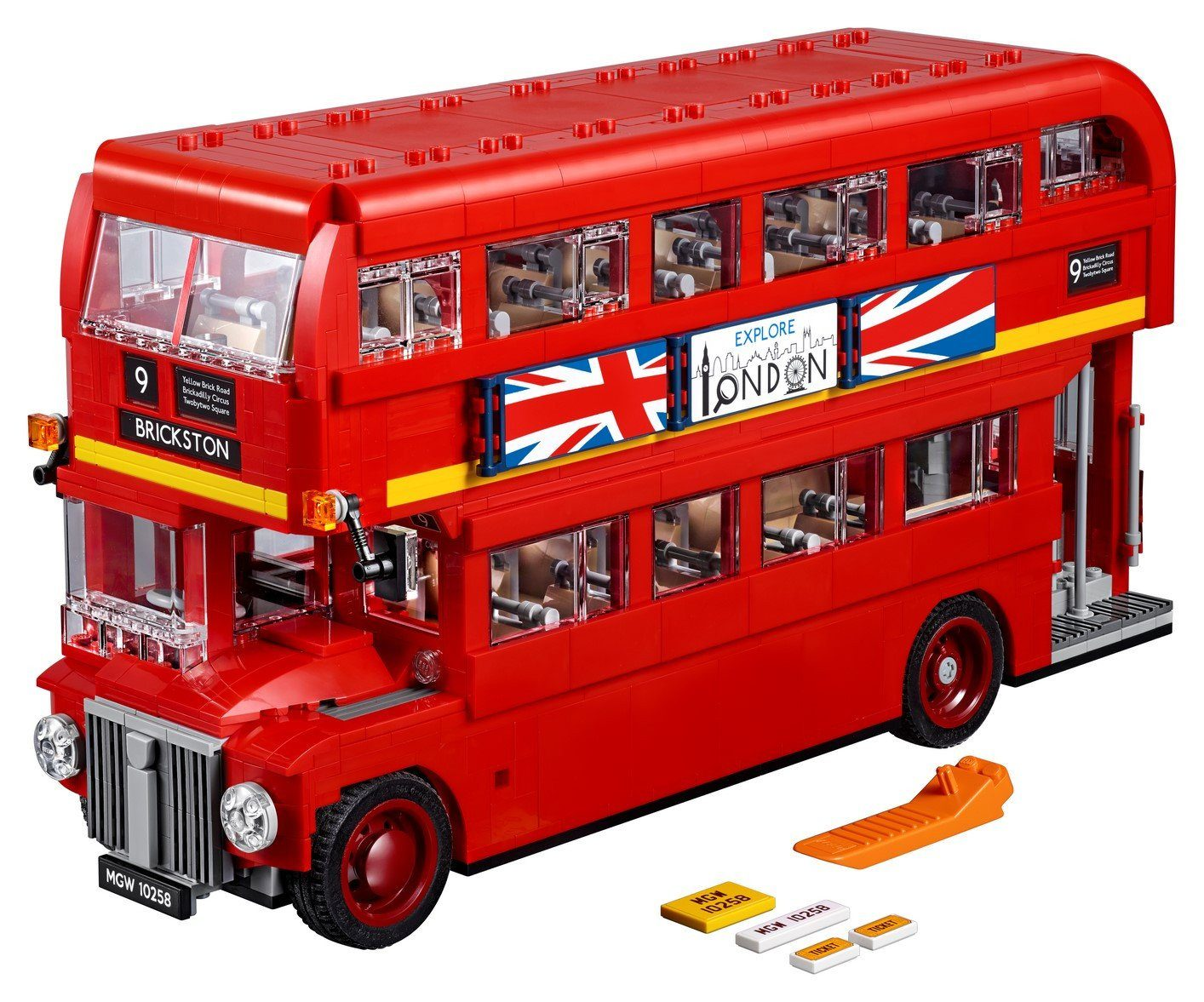 10258 London Bus - LEGO® Bricks World