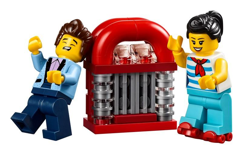 10260 Downtown Diner - LEGO® Bricks World
