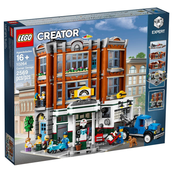 10264 Corner Garage - LEGO® Bricks World