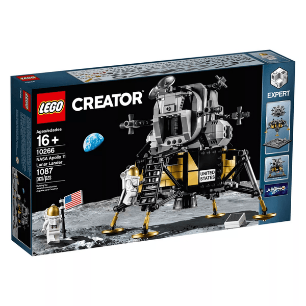 10266 NASA Apollo 11 Lunar Lander - LEGO® Bricks World