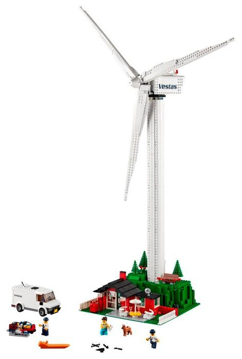 10268 Vestas Wind Turbine - LEGO® Bricks World