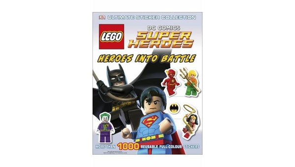 1182895 LEGO DC Super Heroes Heroes Into Battle Ultimate Sticker Collection - LEGO® Bricks World