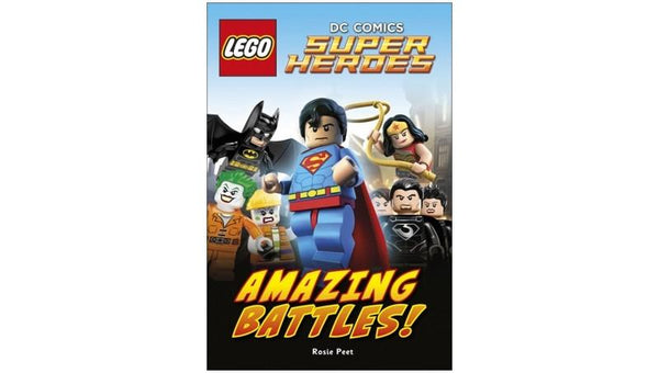 1184004 DK Readers 2: LEGO DC Comics Super Heroes Amazing Battles! - LEGO® Bricks World
