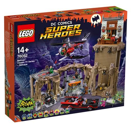 LEGO® DC Comics Super Heroes - 76052 Batman Classic TV Series - Batcave