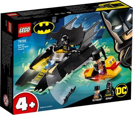 LEGO® DC Comics Super Heroes - 76158 Batboat The Penguin Pursuit!