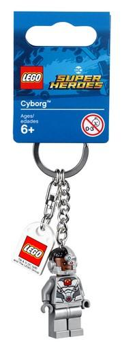 LEGO® DC Comics Super Heroes - 853772 Cyborg™ Key Chain