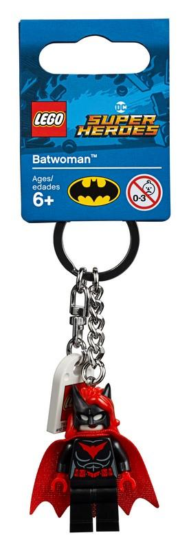 853953 Batwoman™ Key Chain - LEGO® Bricks World