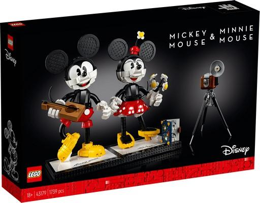LEGO® Disney™ - 43179 Mickey Mouse And Minnie Mouse Buildable Characters