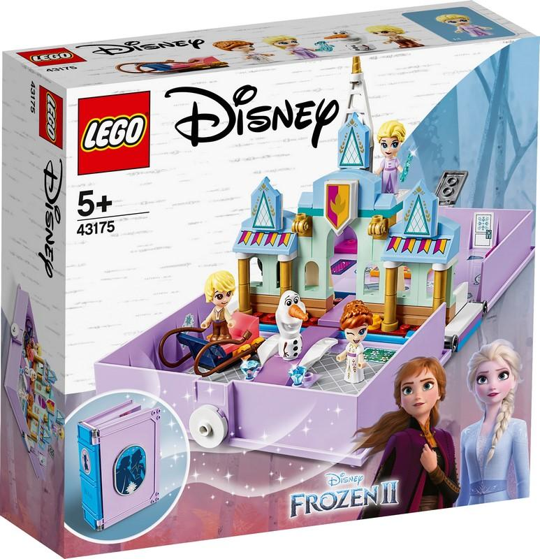 43175 Anna and Elsa's Storybook Adventures - LEGO® Bricks World