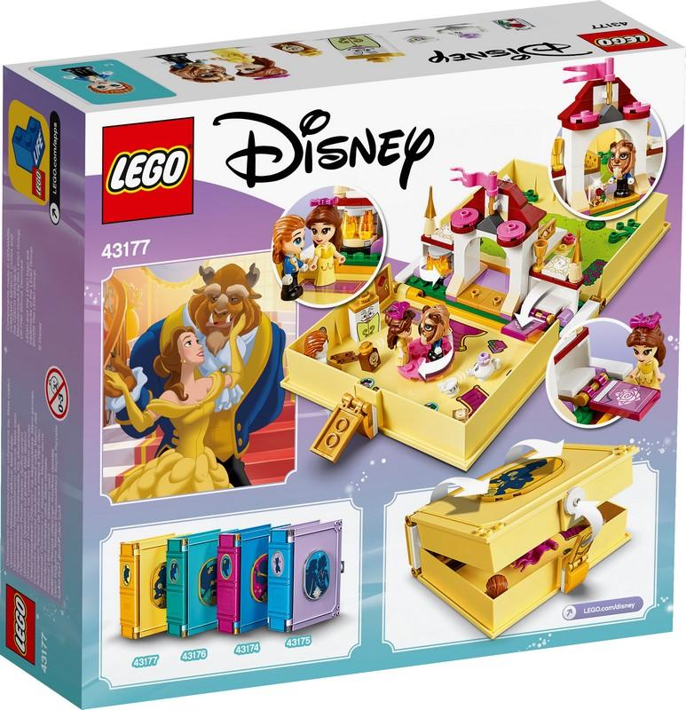 43177 Belle's Storybook Adventures - LEGO® Bricks World