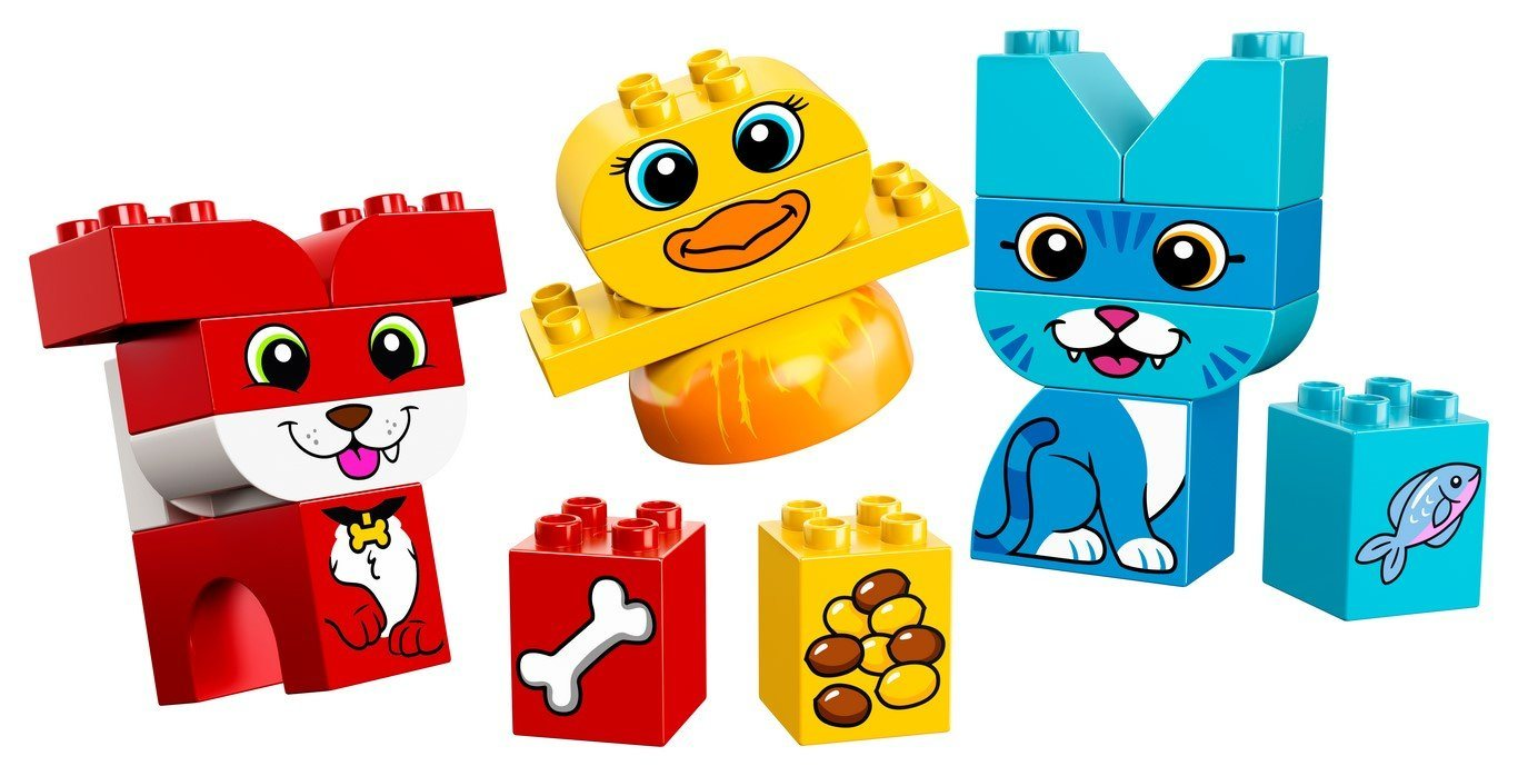 10858 My First Puzzle Pets - LEGO® Bricks World