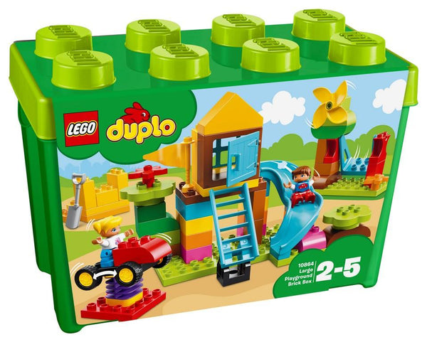 10864 Large Playground Brick Box - LEGO® Bricks World