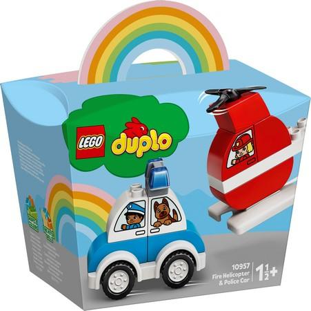 LEGO® DUPLO® - 10957 Fire Helicopter & Police Car