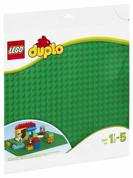 2304 LEGO® DUPLO® Large Green Building Plate - LEGO® Bricks World