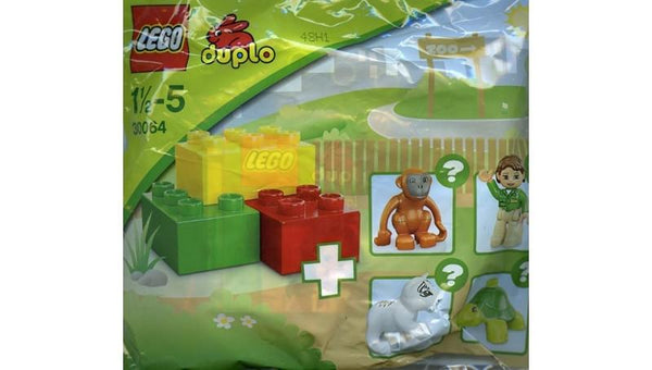 30064 Zoo DUPLO Polybag - LEGO® Bricks World