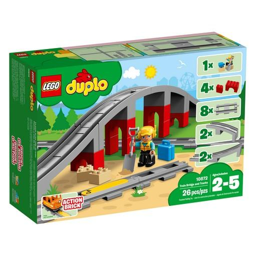 10872 Train Bridge and Tracks - LEGO® Bricks World