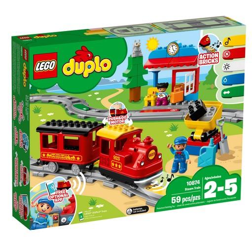 10874 Steam Train - LEGO® Bricks World