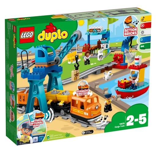 10875 Cargo Train - LEGO® Bricks World