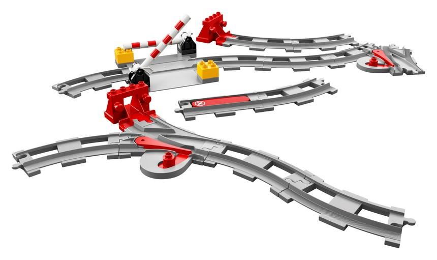 10882 Train Tracks - LEGO® Bricks World