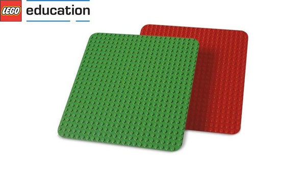 LEGO ® Education - 9071 Large Red And Green Building Plates (DUPLO)