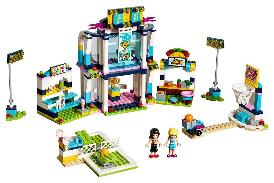41338 Stephanie's Sports Arena - LEGO® Bricks World