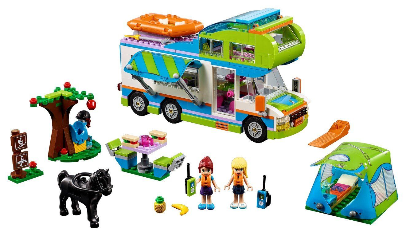 41339 Mia's Camper Van - LEGO® Bricks World