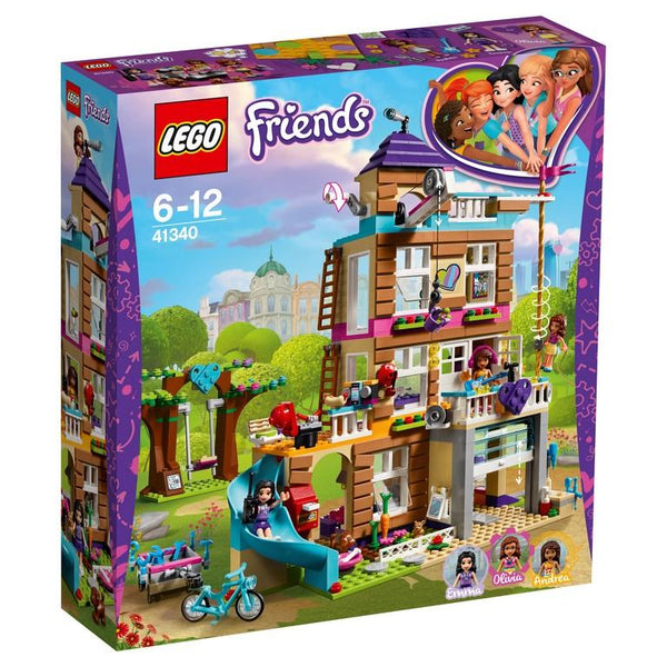 41340 Friendship House - LEGO® Bricks World