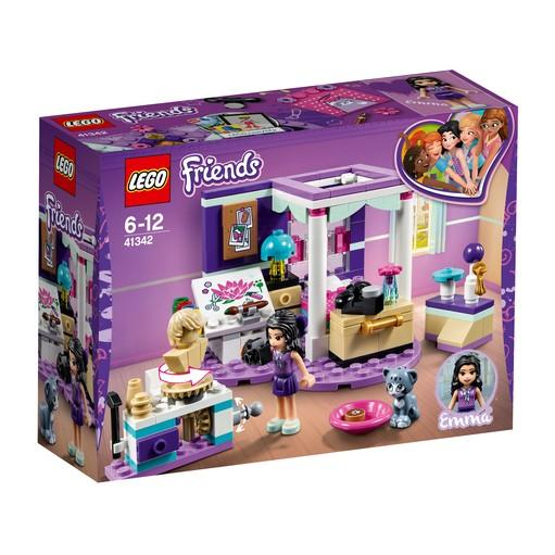 41342 Emma's Deluxe Bedroom - LEGO® Bricks World