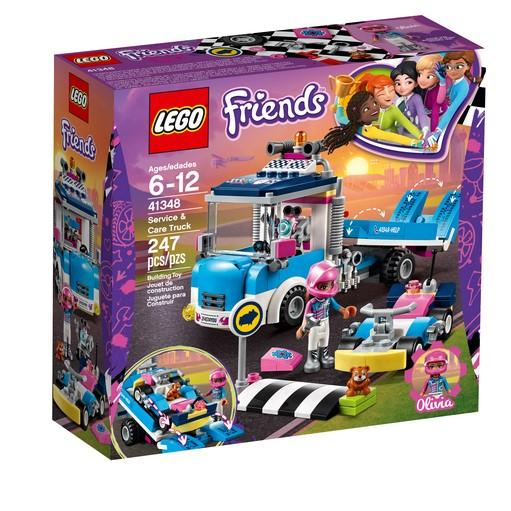 41348 Service & Care Truck - LEGO® Bricks World