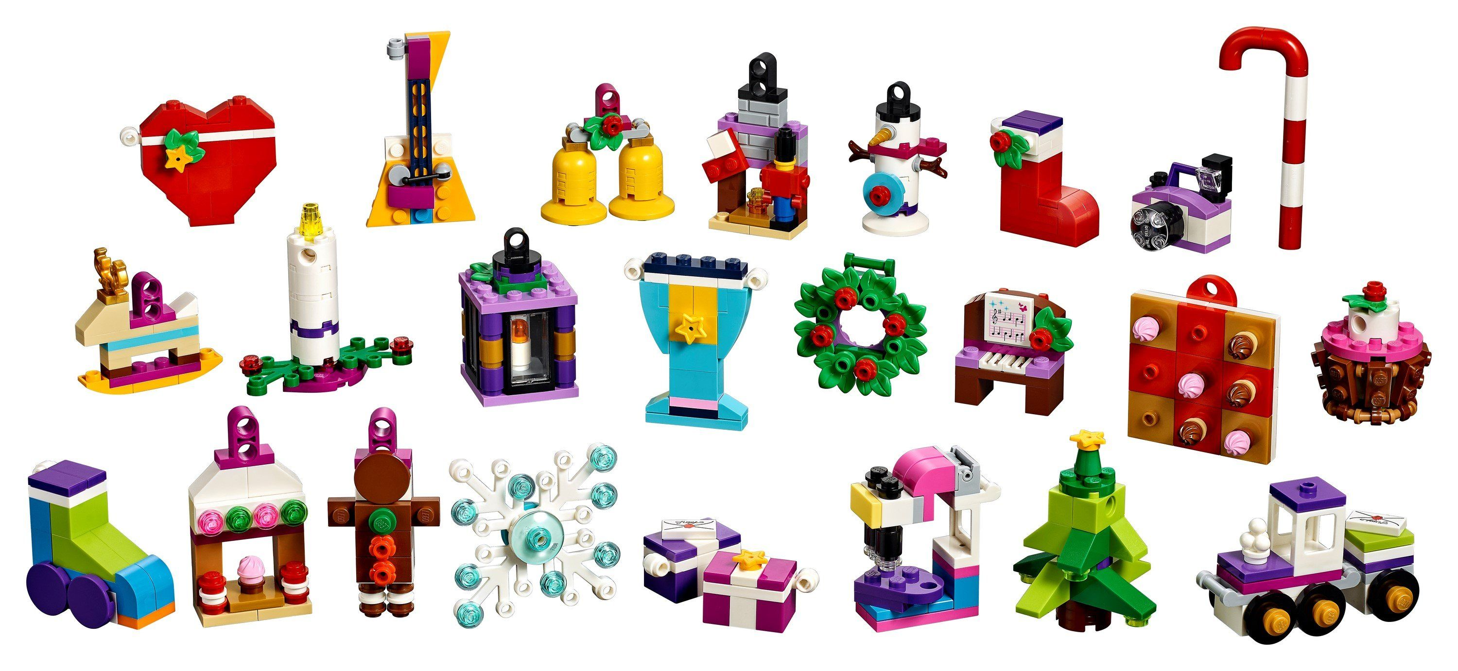 41353 LEGO® Friends Advent Calendar - LEGO® Bricks World