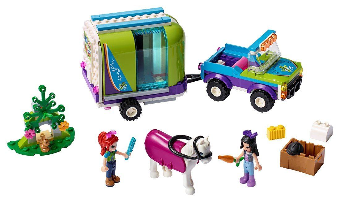 41371 Mia's Horse Trailer - LEGO® Bricks World