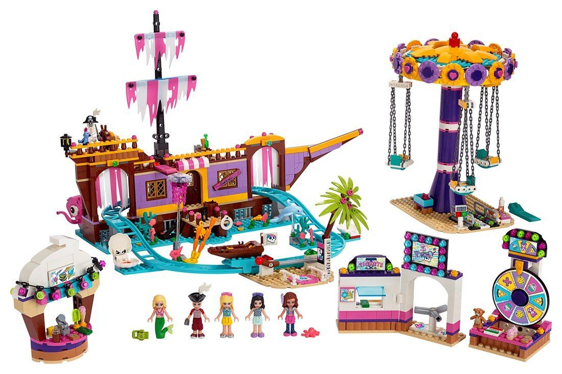 41375 Heartlake City Amusement Pier - LEGO® Bricks World