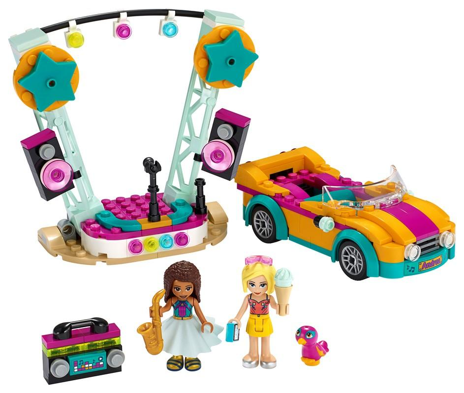41390 Andrea's Car & Stage - LEGO® Bricks World