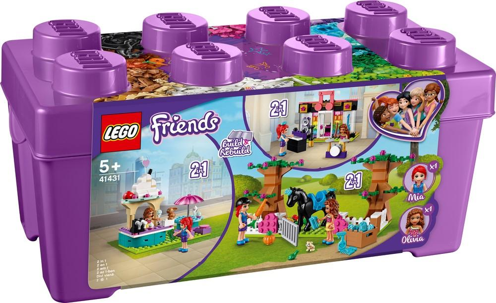 41431 Heartlake City Brick Box - LEGO® Bricks World