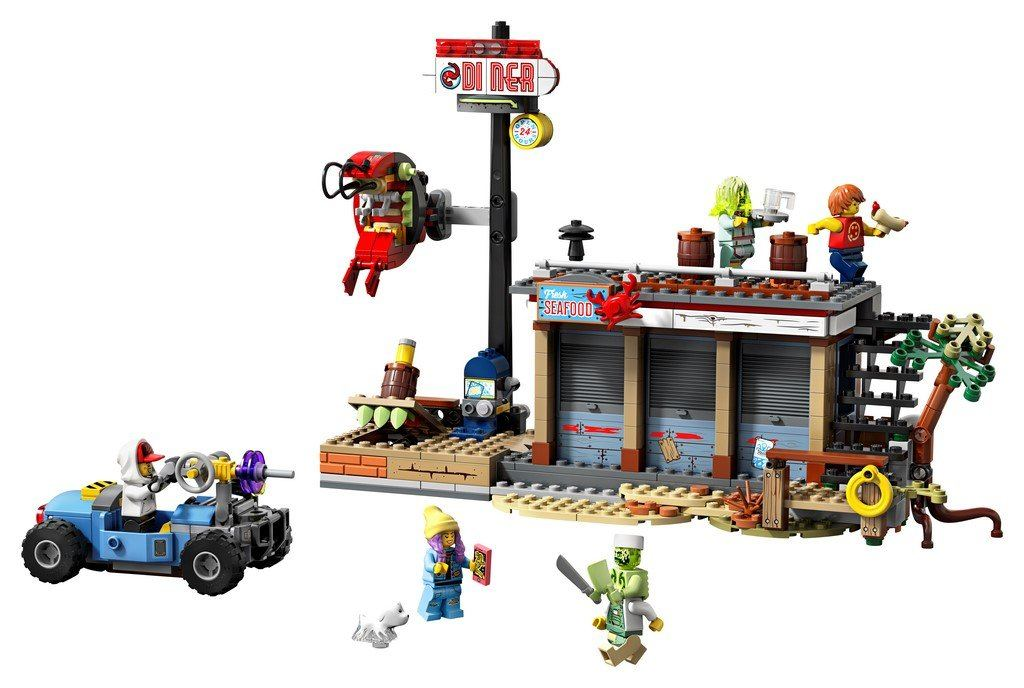 70422 Shrimp Shack Attack - LEGO® Bricks World