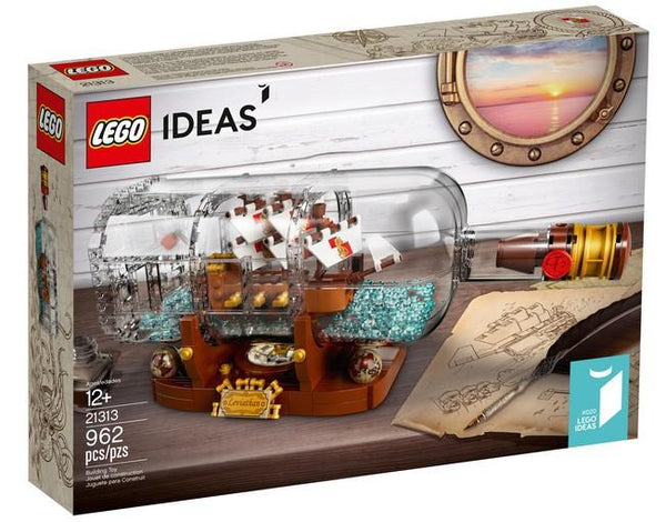 21313 Ship in a Bottle - LEGO® Bricks World