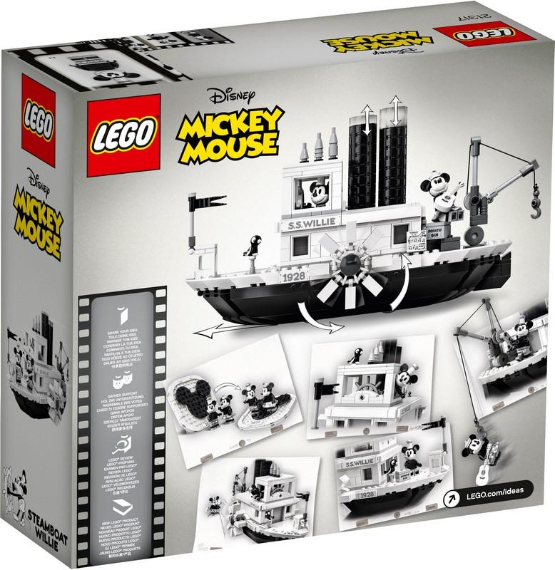 21317 Steamboat Willie - LEGO® Bricks World