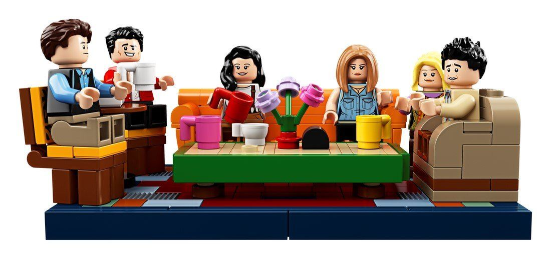 21319 Friends - Central Perk - LEGO® Bricks World