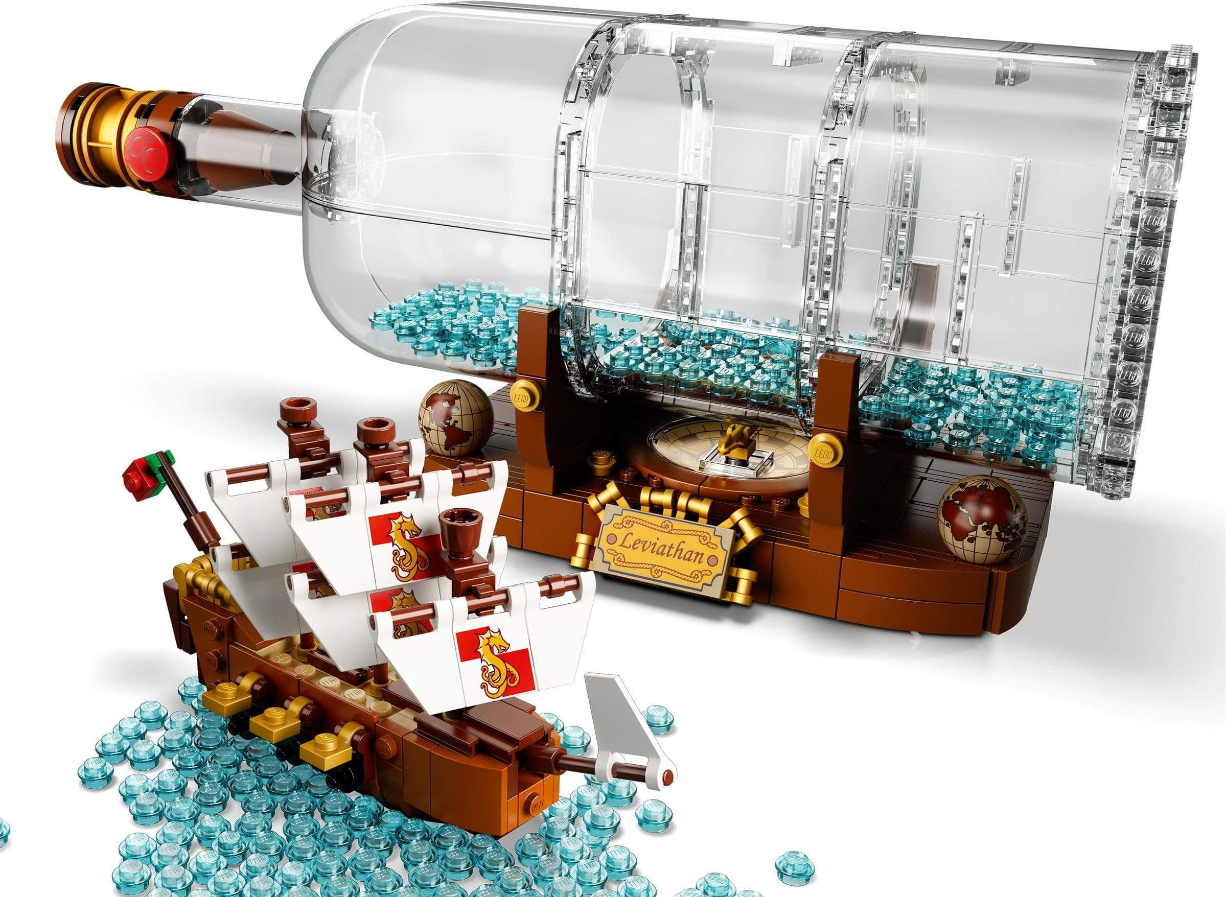 LEGO® Ideas - 92177 Ship In A Bottle