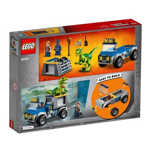 10757 Raptor Rescue Truck - LEGO® Bricks World